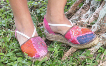 SoBe Unique Women's Espadrilles Espanola Way Shoes Miami Beach Florida